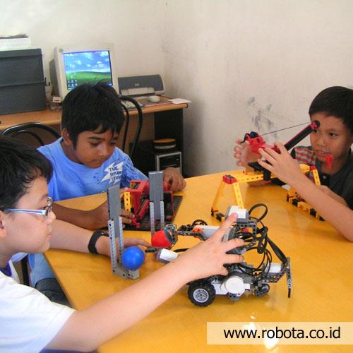 Sekolah Robot - siswa