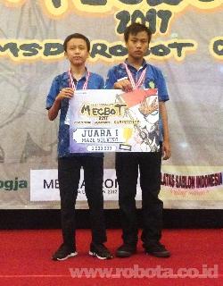 Kontes Robot MECBOT 2017 Juara 1