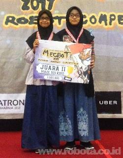 Kontes Robot MECBOT 2017 Juara 2