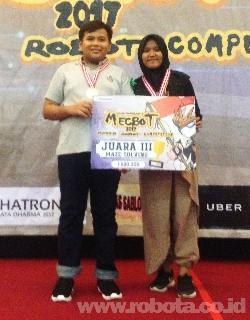 Kontes Robot MECBOT 2017 Juara 3