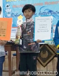 Kontes Robot Muhammadiyah Simpon Juara 2