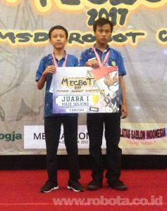 Lomba Robot MECBOT 2017 Juara 1