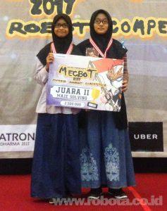 Lomba Robot MECBOT 2017 Juara 2