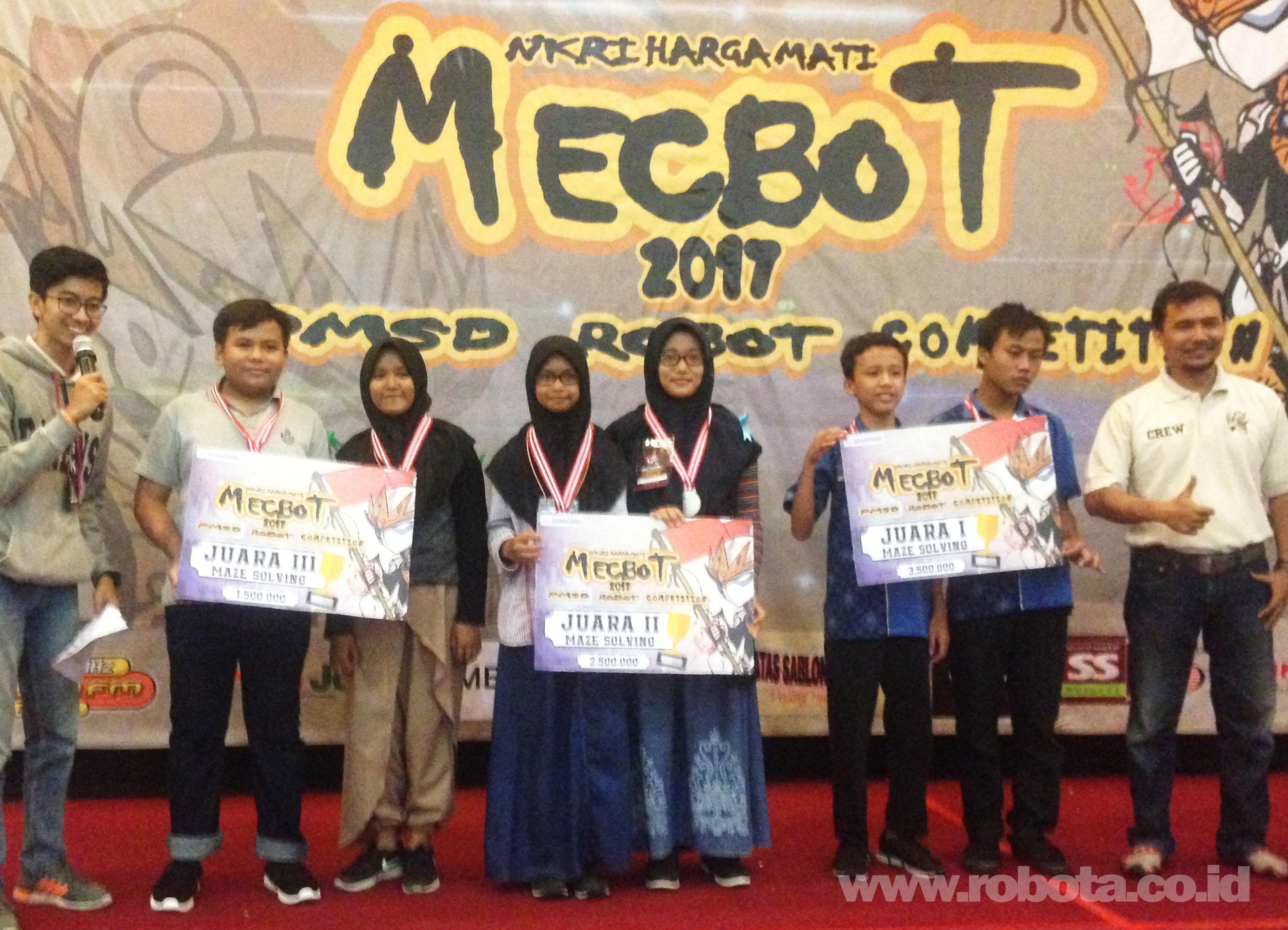 Lomba Robot MECBOT