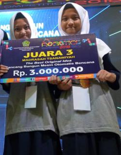 Kontes Robot Madrasah 2018 MTsN 5 Sragen Juara 1