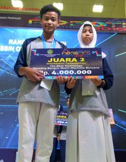 Kontes Robot Madrasah 2018 MTsN 8 Sragen Juara 3
