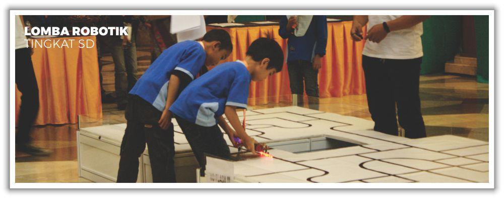 Lomba Robotik Tingkat SD