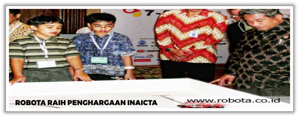 Robota Raih Penghargaan INAICTA