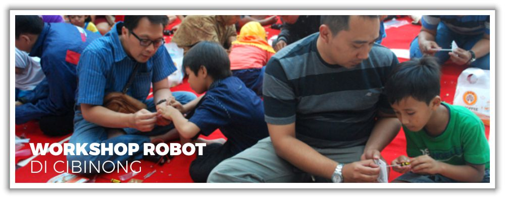 Workshop Robot di Cibinong