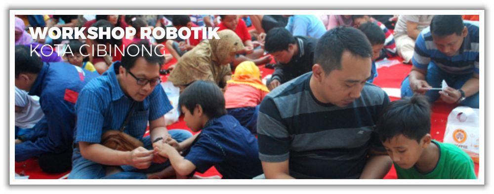Workshop Robotik Kota Cibinong