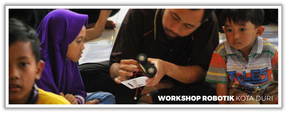Workshop Robotik Kota Duri