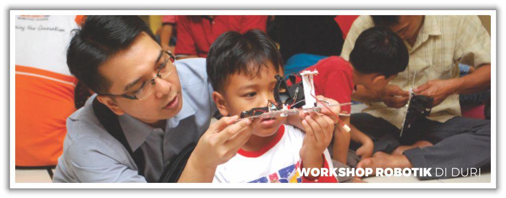 Workshop Robotik di Duri