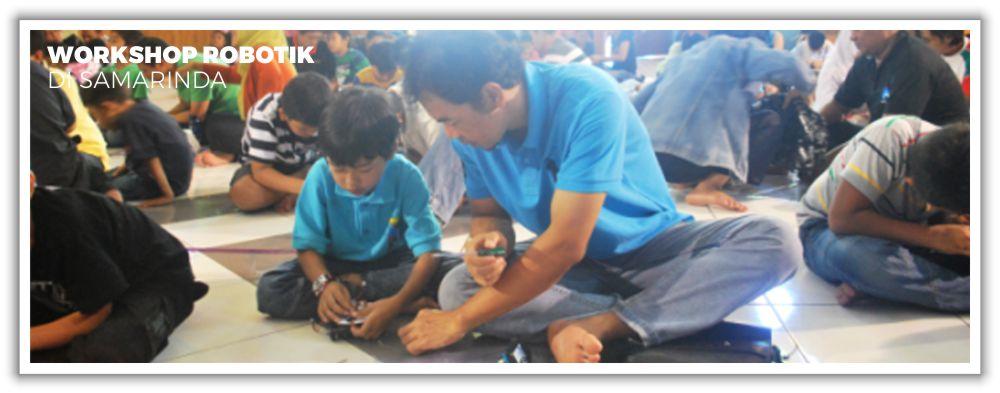 Workshop Robotik di Samarinda